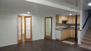 Basement for rent with 2 bedrooms
