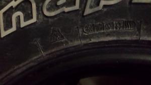 Hankook Dynapro 265/75R16 winter truck tires