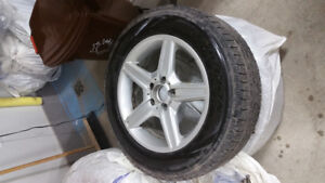 Mercedes GLK winter tires with Rim