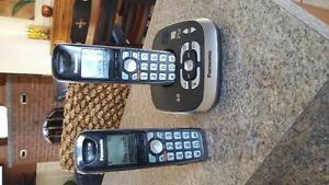 Téléphone panasonic double