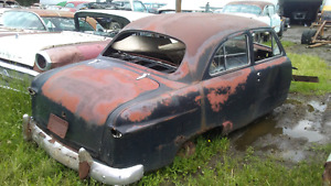 Two 1950 Ford two door sedans