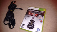 Rocksmith Video Game and Guitar Cable for XBOX 360