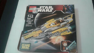 LEGO 7669 Star Wars Anakin's Jedi Starfighter New