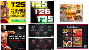DVDs Shaun T : FocusT25-Insanity Max-Cize-insanity 60 jours-