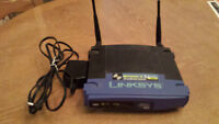ROUTER - LINKSYS WIRELESS-G - 4 PORT SWITCH