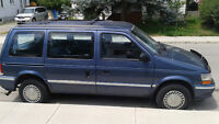 1992 Plymouth Voyager SE Other