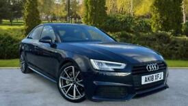 image for Audi A4 2.0 TDI (150) Black Edition S Tronic (Smartphone I Auto Saloon Diesel Au