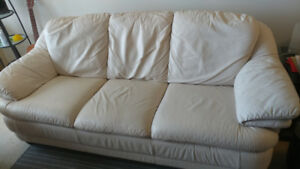 Loveseat & Sofa Leather Set *MUST SEE!
