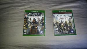 Xbox 1 assassins creed games