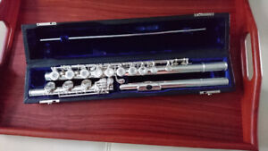Solid Silver Professional Flute