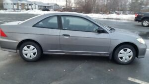 2005 Honda Civic,5 speed.V.G. Cond.