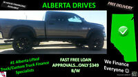 $349 B/W 2014 RAM 2500 DIESEL CUSTOM LIFT, TIRES, LEATHER HEATED