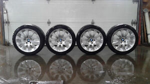 Mags / Wheels 159 OEM BMW - Winter / Hiver Hankook i-Pike RS