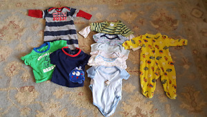 Baby boy clothes 0-6 months