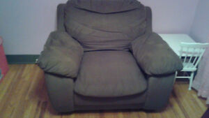Brown Over Sized Chair