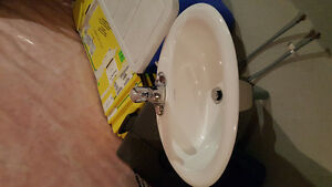 Brand new sink and faucet Kitchener / Waterloo Kitchener Area image 1