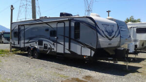 Almost NEW Toy Hauler with Extended Warranty.  BEST DEAL!!