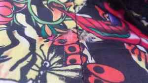 RARE small multi color prints ED HARDY duffle bag sac West Island Greater Montréal image 4