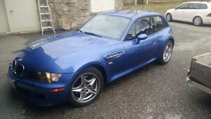 2001 BMW Z3 M S54 Coupe (early S54 pre production car)