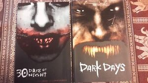 Comic IDW 30 Days of Night and Dark Days Graphic Novels