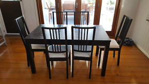 Dining Table, 6 chairs Eight Mile Plains Brisbane South West Preview
