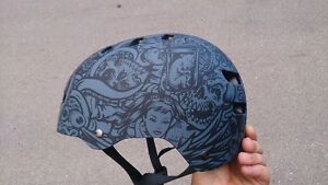 New Bell Fraction Helmet - Cool Graphics - Bike BMX Skate DJ DH
