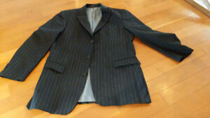 Hugo boss jacket, like new condition, with blue pinstripe 42L