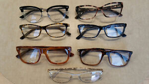 7 pairs of Gucci Eyewear (brand new) with cases
