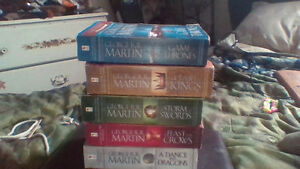 Game of Thrones 1-5 For Sale ASAP