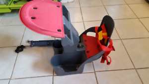 Child bike seat - front bike carrier