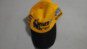 Seven brand new fishing derby hats