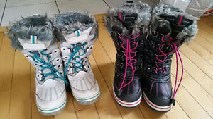 Girls winter boots Cambridge Kitchener Area image 1