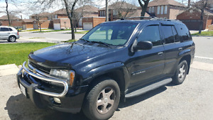 2003 chevy trailblazer lt Leather 4X4 with saftey and etest