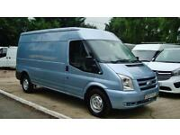 2007 FORD TRANSIT 2.4 TDCI LWB Medium Roof Panel Van NO VAT