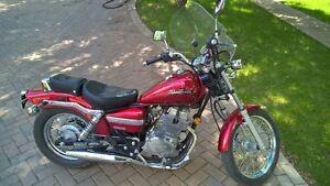 2007 Honda Rebel Motorcycle