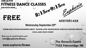FREE Fitnes Dance classes