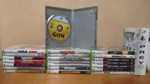 Used Xbox 360 games. Prices are negotiable.