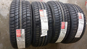 4 - 215/55R16 Uniroyal Tiger Paw Touring Tires