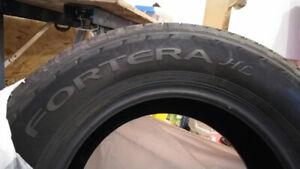 4 pneus NEUFS - Goodyear Fortera HL 245/70R17