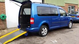 2012 VW Volkswagen Caddy Maxi Life Wheelchair Accessible Disabled Vehicle