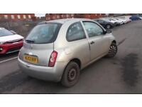 2003 53 NISSAN MICRA 1.2 16V S 3 DOOR.12 MONTHS MOT.GREAT RUNNER,ANY PX WELCOME.