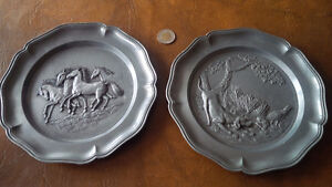 Wall Plaques, Pewter?, Made In Italy Kitchener / Waterloo Kitchener Area image 1
