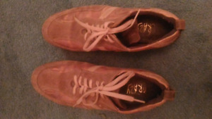 MENS SPORTY STYLE LEATHER SHOES size 10