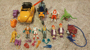 Vintage Ghostbusters Figures and Vehicles