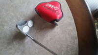 Used Right handed odyssey 2 ball putter.