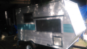Custom built micro trailer