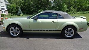 2006 Ford Mustang Convertible= Legend Green with Black Top