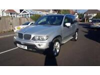 2005 BMW X5 3.0d Automatic Sport Silver Panoramic Roof Sat Nav Full Leather