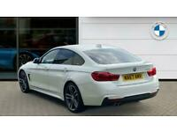 2017 BMW 4 Series 430d M Sport 5dr Auto [Professional Media] Diesel Hatchback Ha