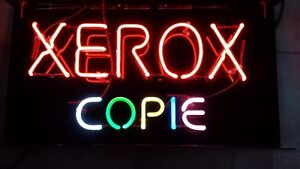 Xerox Sign